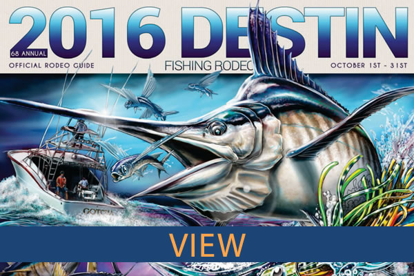 2015 Destin Fishing Rodeo Book