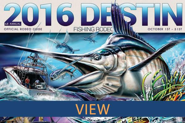 2015 Destin Fishing Rodeo Book
