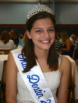 Miss Destin 2014 - Kira Moraca