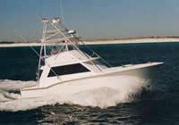 Charter Boat Outta Line